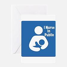 Nursing in Public Greeting Card