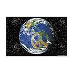 Peace On Earth Mini Poster Print