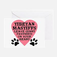 Tibetan Mastiff Greeting Card