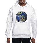 Peace On Earth Hooded Sweatshirt