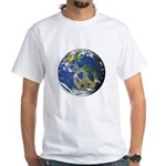 Peace On Earth White T-Shirt