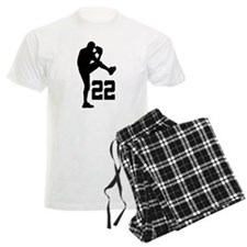 Baseball Uniform Number 22 Pajamas
