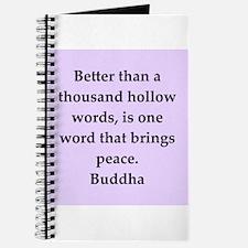 Buddha wisdom Journal