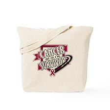 Head Neck Cancer Survivor Tote Bag