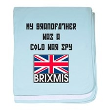 My Grandfather was a Cold War baby blanket