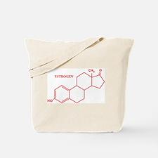 Estrogen Molecule Tote Bag