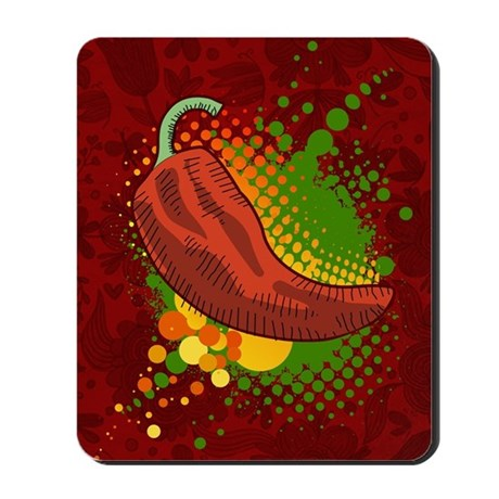 Pepper Season Mousepad