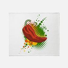 Pepper Season Throw Blanket
