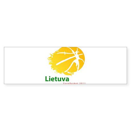 Eurobasket 2011 Lithuania Sticker (Bumper)
