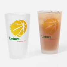 Eurobasket 2011 Lithuania Drinking Glass