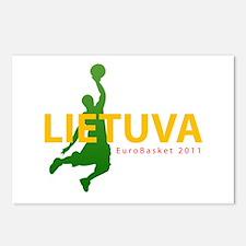 Eurobasket 2011 Dunker Postcards (Package of 8)