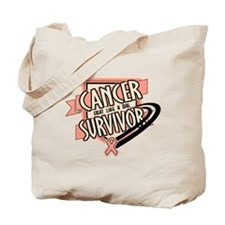 Endometrial Cancer Survivor Tote Bag