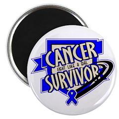 Colon Cancer Survivor Magnet