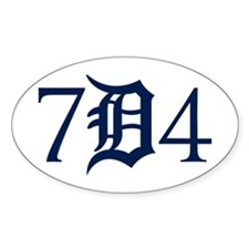 734 Downriver Decal