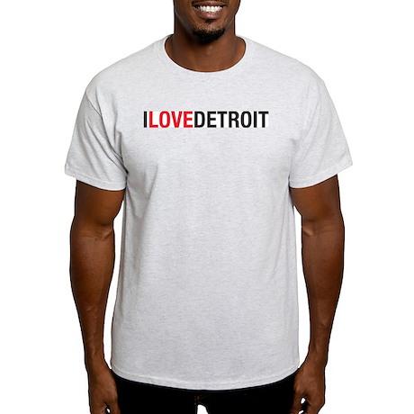 I love Detroit Light T-Shirt