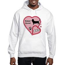Basset Hound Hoodie Sweatshirt