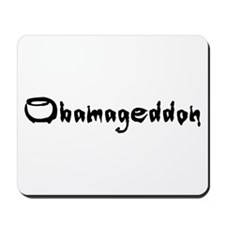 Obamageddon - Anti Obama 2012 Mousepad