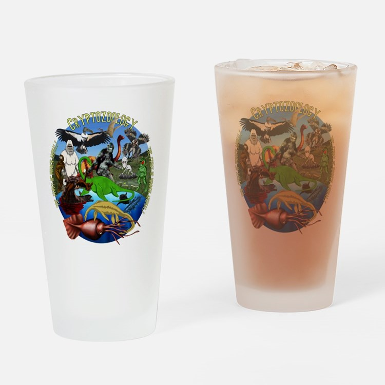 Cryptozoology Drinking Glass