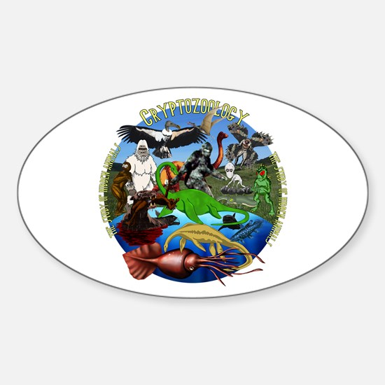 Cryptozoology Sticker (Oval)