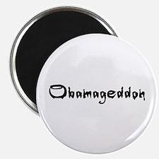 """Obamageddon - Anti Obama 2012 2.25"""" Magnet (100 pa"""