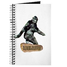 Bigfoot-I Believe Journal