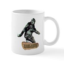 Bigfoot-I Believe Small Mug