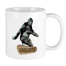 Bigfoot-I Believe Small Mugs