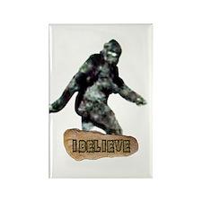 Bigfoot-I Believe Rectangle Magnet