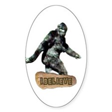 Bigfoot-I Believe Decal