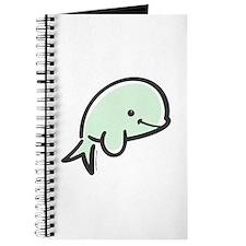 Cute Baby Beluga Journal