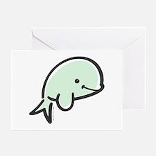 Cute Baby Beluga Greeting Cards (Pk of 10)