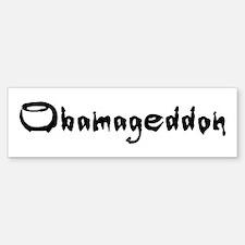 Obamageddon - Anti Obama 2012 Sticker (Bumper)