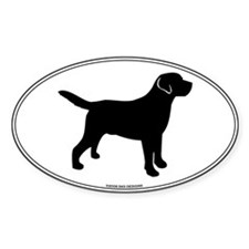 Black Lab Outline Decal
