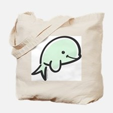 Cute Baby Beluga Tote Bag