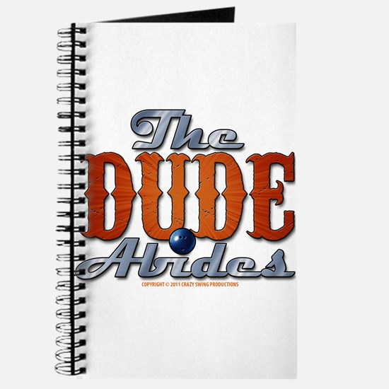 The Dude Abides Journal