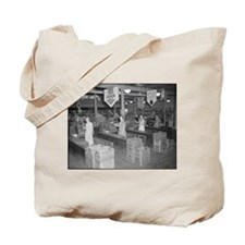 Retro Grocery Cashiers Tote Bag