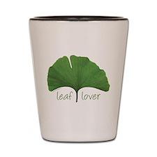 Leaf Lover Shot Glass