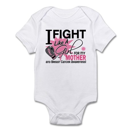 Fight Like A Girl Breast Cancer Infant Bodysuit