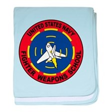 United States Navy Fighter We baby blanket