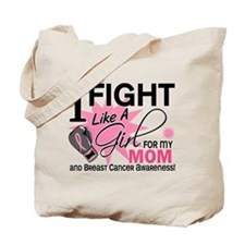 Fight Like A Girl Breast Cancer Tote Bag