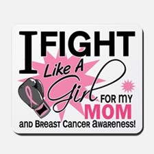 Fight Like A Girl Breast Cancer Mousepad