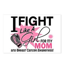 Fight Like A Girl Breast Cancer Postcards (Package