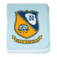 F-18 Blue Angels baby blanket