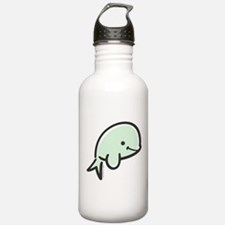 Cute Baby Beluga Water Bottle
