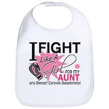 Fight Like A Girl Breast Cancer Bib
