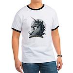 Angry Unicorn Ringer T