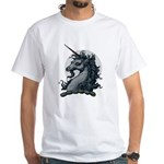 Angry Unicorn White T-shirt