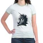 Angry Unicorn Jr. Ringer T-Shirt