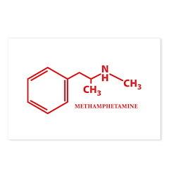 Meth Molecule Postcards (Package of 8)