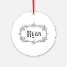 """Celtic Knots Ryan"" Ornament (Round)"